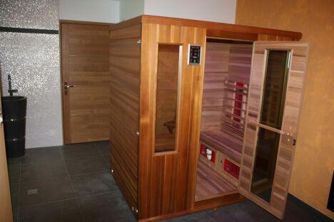 Le sauna du Résid'Spa Loire et Sèvre à Rezé