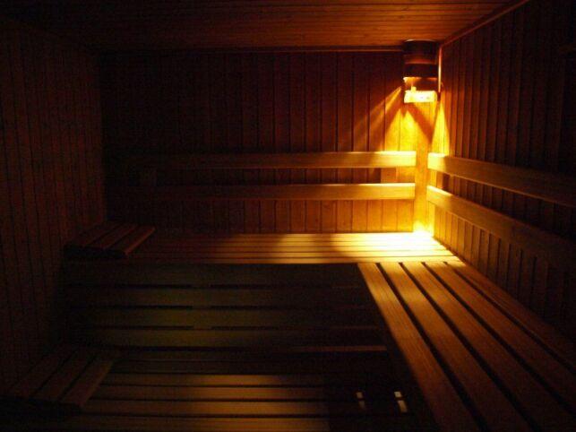 Le sauna du spa Valence Balnéo à Valence