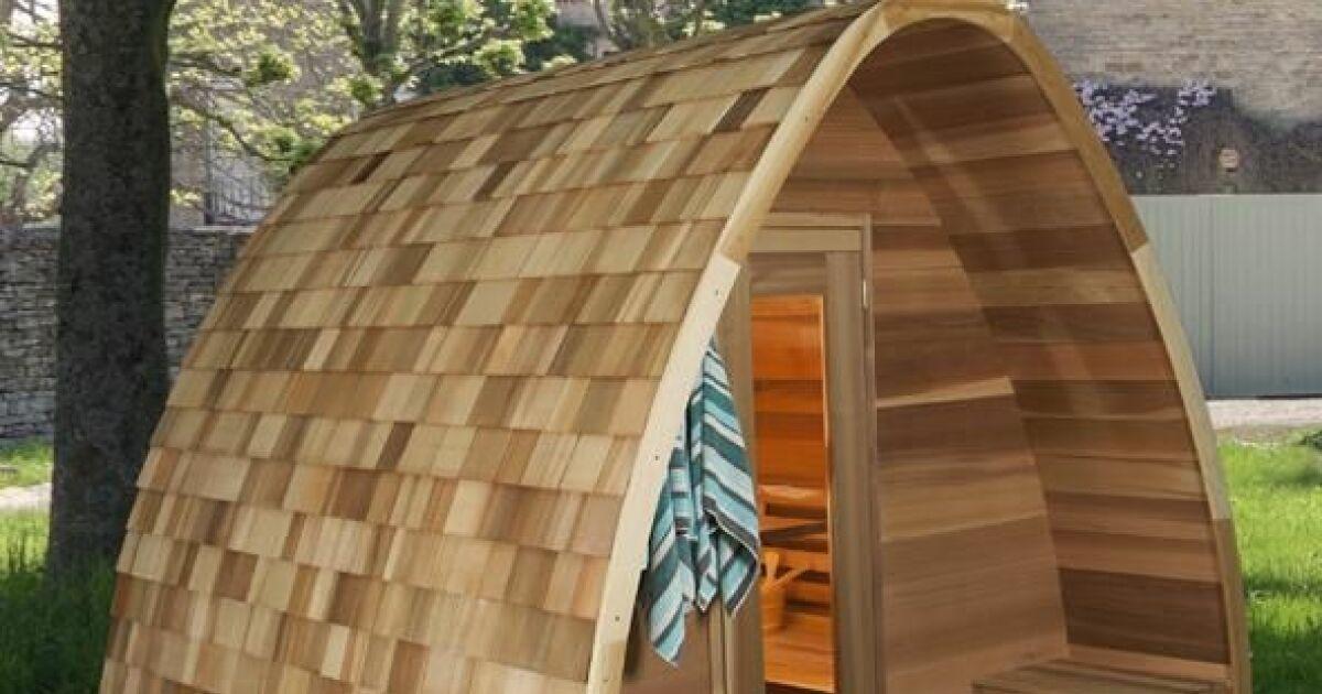 Le sauna pod une cabane originale et cologique for Construction piscine originale