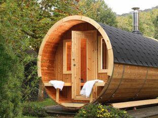 Le sauna tonneau