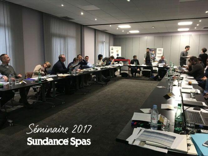 Le séminaire 2017 de Sundance Spa s'est déroulé à Bordeaux