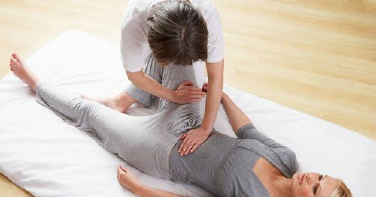 Seance de massage japonais - 1 part 2