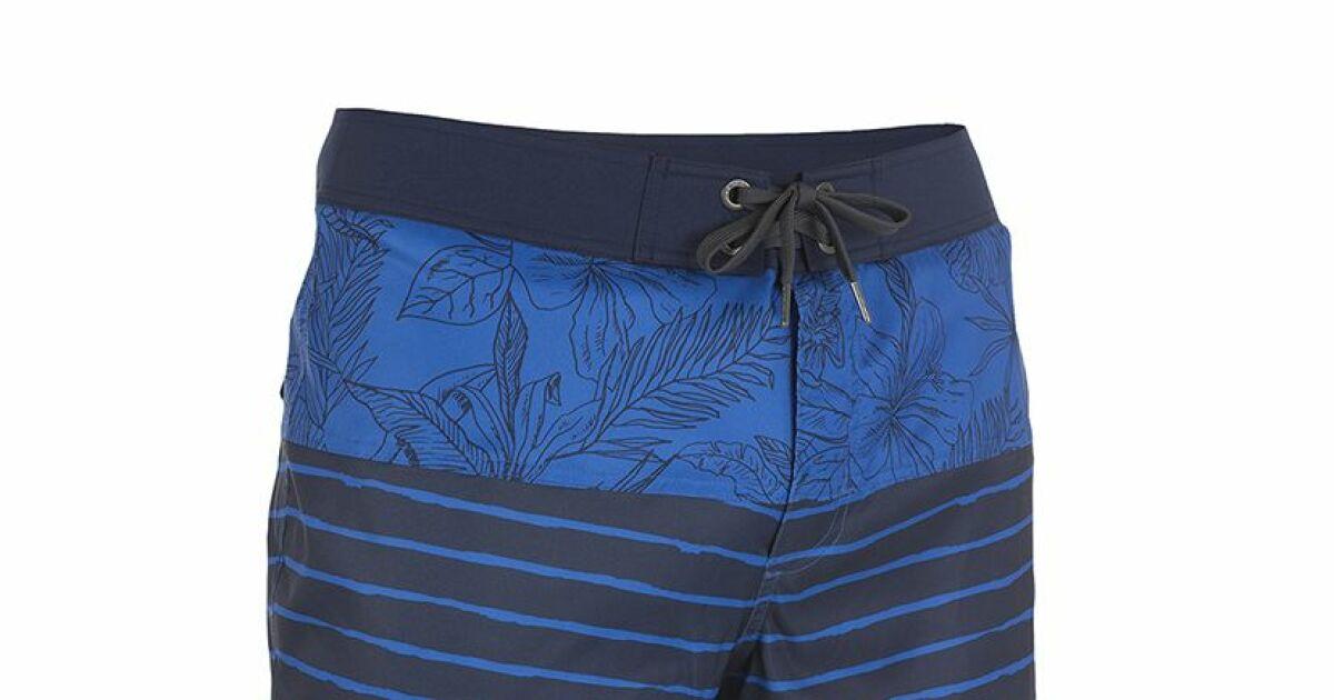 Le short de bain tribord new floral for Short piscine homme