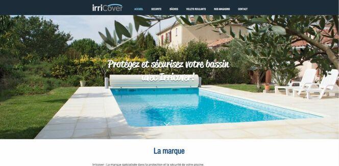 Le site de la marque Irricover