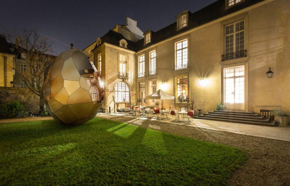Le Solar Egg s'installe à Paris !© ideat.thegoodhub.com