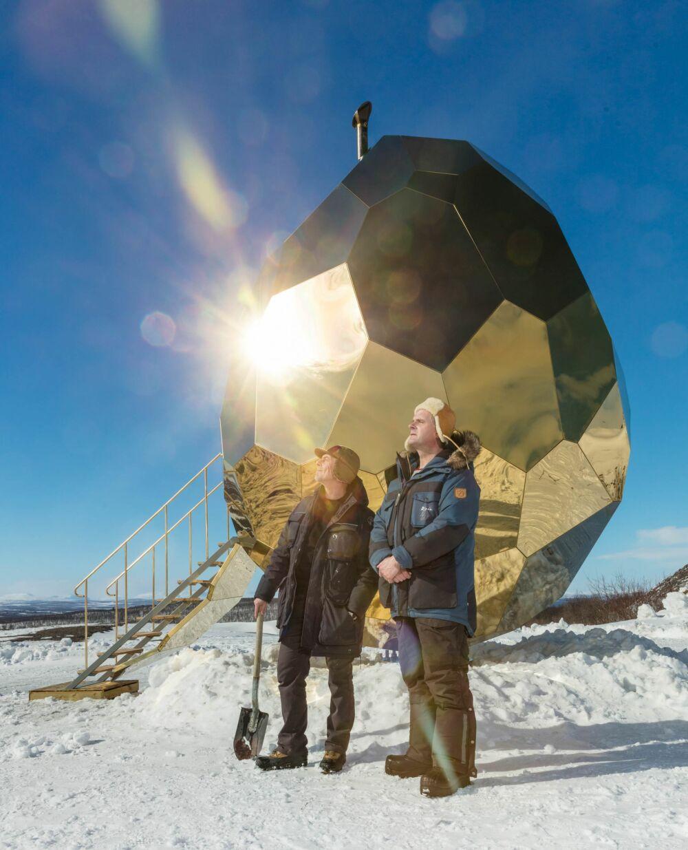 Le Solar Egg se situe en Suède© Jean-Baptiste Béranger - Bigert & Bergström