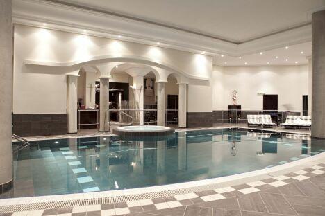 """Le spa du Pavillon de la Rotonde à Charbonnières-les-Bains<span class=""""normal italic petit"""">DR</span>"""