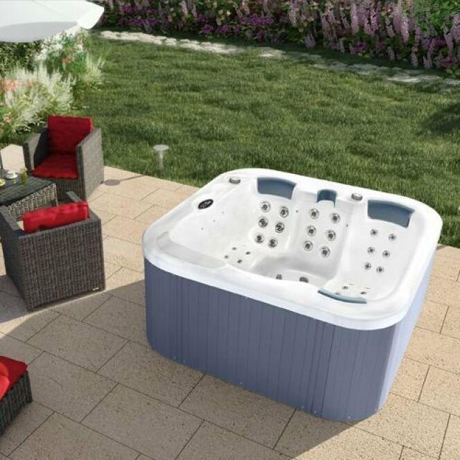 les plus beaux spas ext rieurs en photos spa field d 39 aqua dolce. Black Bedroom Furniture Sets. Home Design Ideas