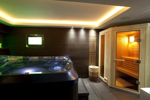 Le spa intérieur : un bain à bulles à la maison