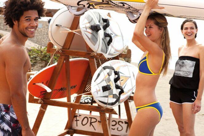 "Le surfwear en 2013 par Arena.<span class=""normal italic petit"">© Arena</span>"