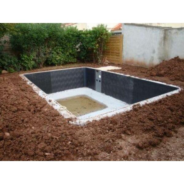 Le talutage stabiliser le sol pour la piscine for Piscine semi enterree desjoyaux