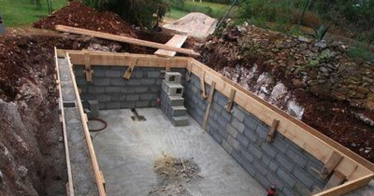 Assez Effectuer le terrassement de votre piscine GM58