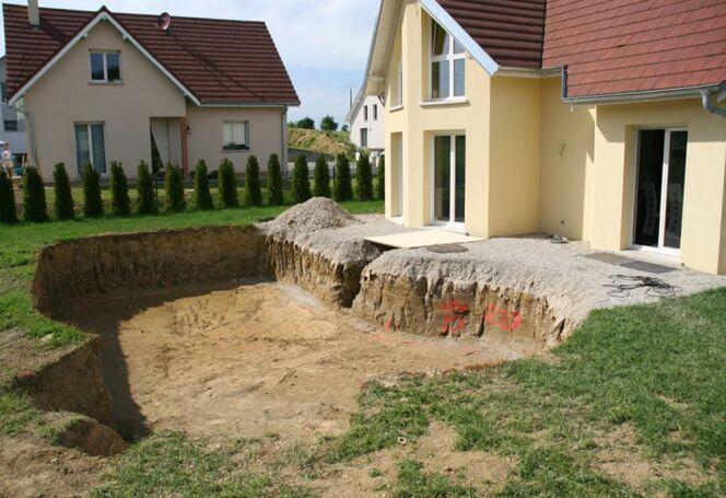"Le terrassement<span class=""normal italic petit"">© Waterair</span>"