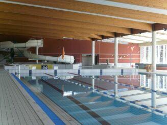 Le toboggan aquatique de la piscine du Val de Morteau à Les Fins