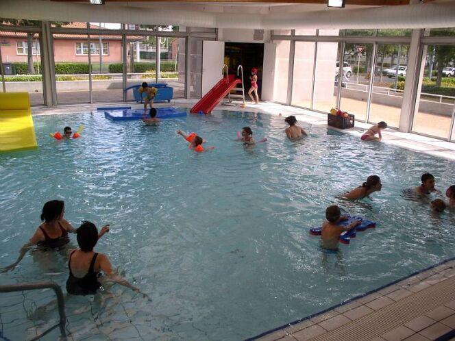 Le bassin d'apprentissage de la piscine de Blagnac