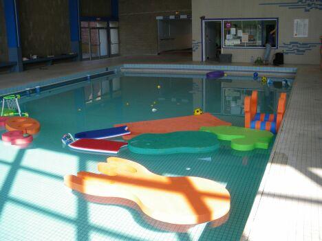 """Le bassin d'apprentissage de la piscine de Lomme<span class=""""normal italic petit"""">DR</span>"""