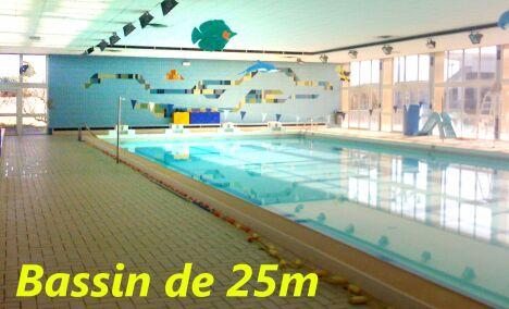 "Le bassin de 25 mètres de la piscine de Mérignac<span class=""normal italic petit"">DR</span>"
