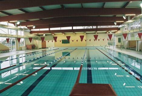 Le bassin intérieur de la piscine de Blagnac