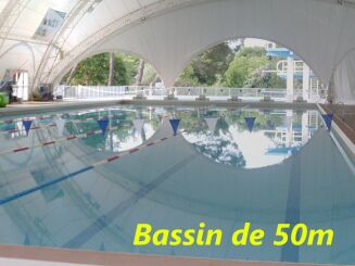 Le bassin olympique de la piscine de Mérignac