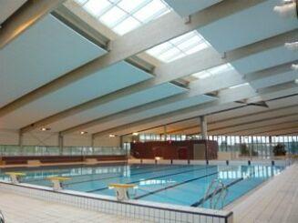 Le bassin sportif de la piscine de Crepy en Valois