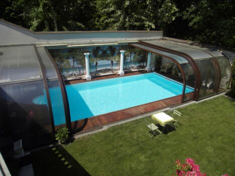 Piscine le bois design veauche pisciniste loire 42 for Piscine andrezieux