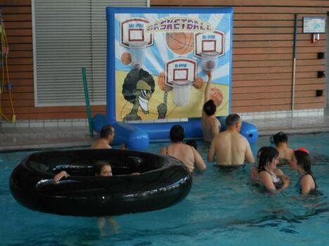 """Le centre aquatique de Pouzauges propose des activités pour les enfants<span class=""""normal italic"""">DR</span>"""