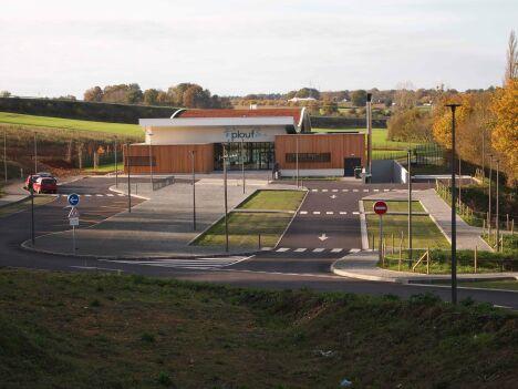 Le centre aquatique Plouf à Château du Loir
