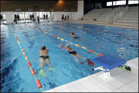 """Le grand bassin de natation de la piscine de Cherbourg<span class=""""normal italic petit"""">© photo Jean-Michel Enault-Ville de Cherbourg-Octeville</span>"""