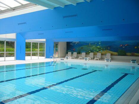 "Le grand bassin de natation de la piscine de Saint Mihiel<span class=""normal italic petit"">DR</span>"