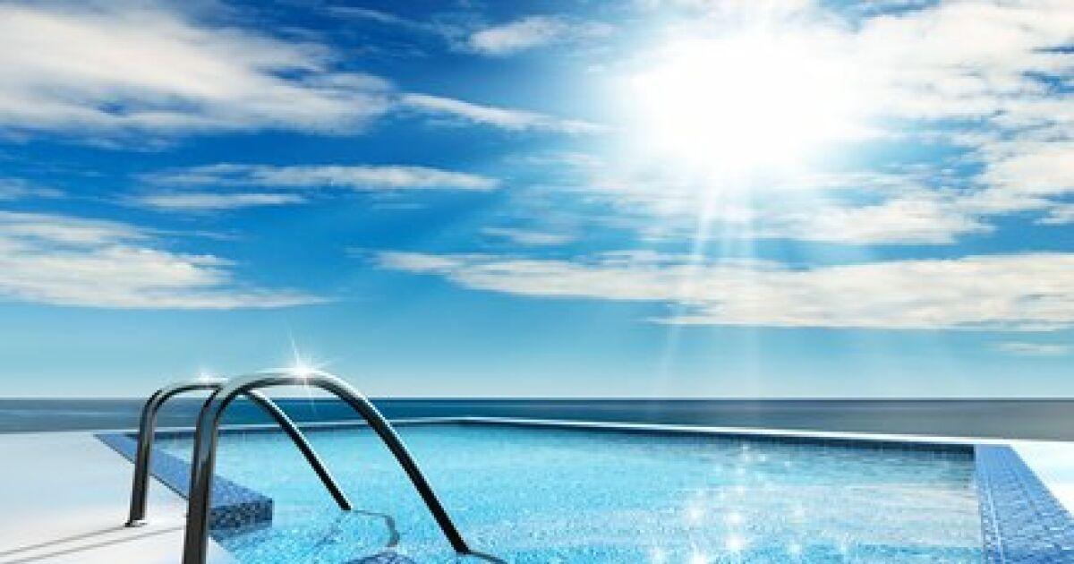 Le chauffe eau de la piscine