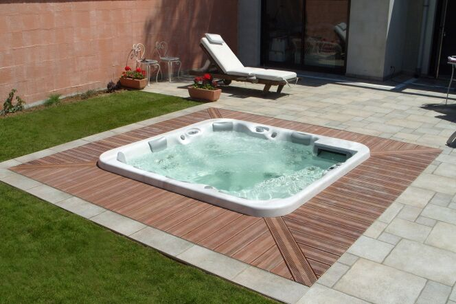 Les plus beaux spas ext rieurs en photos le spa for Piscine exterieur