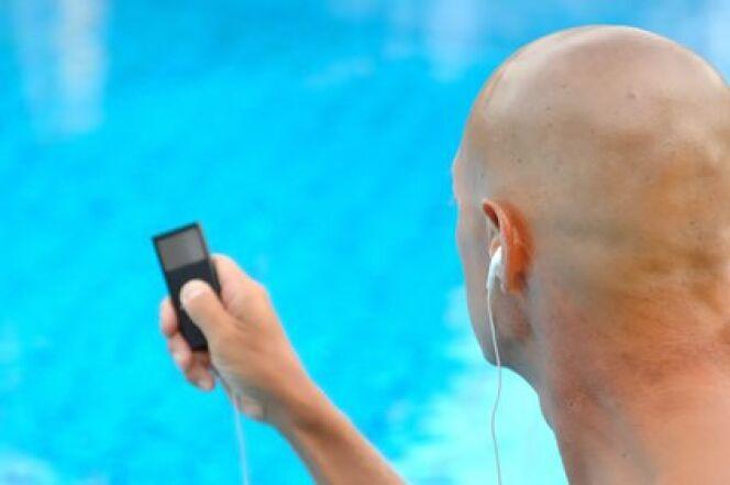 lecteur mp3 tanche pour la piscine