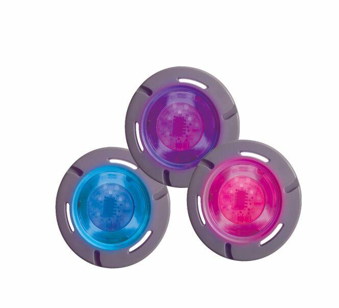 Les LEDs ColorLogic 320 permettent de donner l'ambiance que vous voulez à votre piscine.