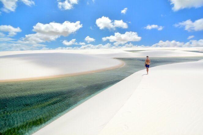 Lencois Maranhenses National Park à Barreirinhas au Brésil