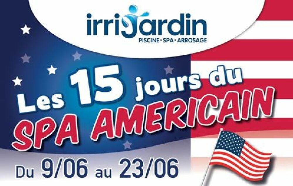 Les 15 jours du spa américain Irrijardin© Irrijardin