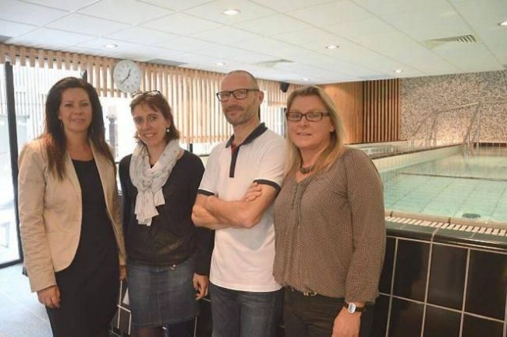 Les abattoirs SVA offrent des cours d'aquabike à leurs employés !© Ouest-France