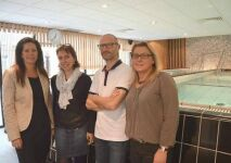 Les abattoirs SVA offrent des cours d'aquabike à leurs employés !