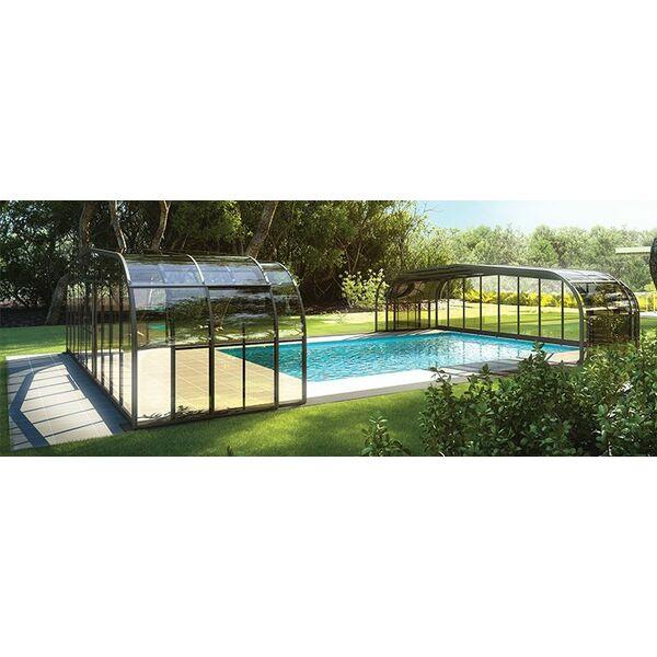 Manipulation facilit e pour les abris de piscine rideau for Rideau piscine