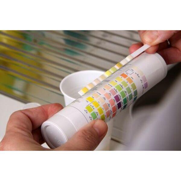 Les bandelettes test pratiques et efficaces pour analyser for Diffuseur de chlore pour piscine