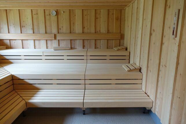 Les banquettes de sauna