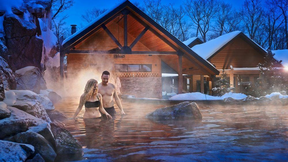 Les bienfaits de l'alternance chaud/froid© Nordik Spa Nature