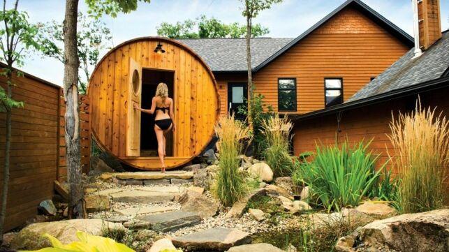 Les bienfaits du sauna au Nordik Spa Nature