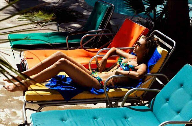 """Les bikinis fleuris ont encore de beaux jours devant eux.<span class=""""normal italic petit"""">© Seafolly</span>"""