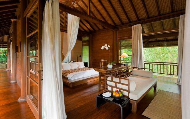 Les chambres luxueuses du Como Shambhala Estate