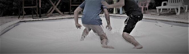 Les couvertures de piscine Poolco sont robustes.