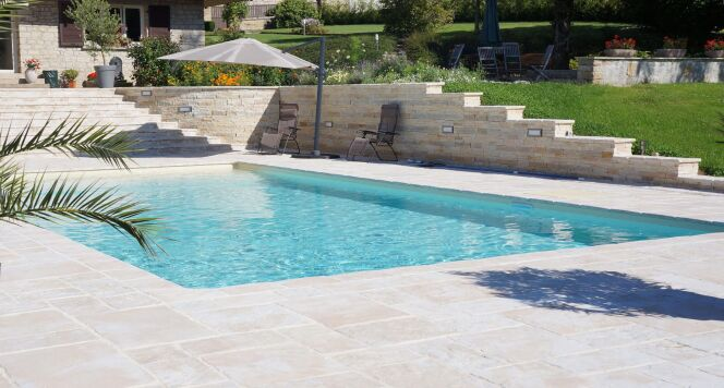 Les dallages Bradstone Manoir