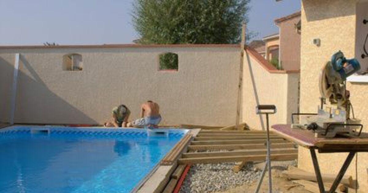 Les d lais de construction de la piscine for Construction de piscines