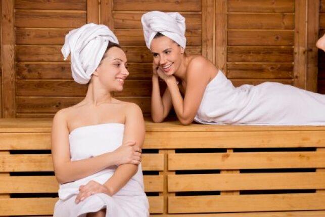 La température d'un sauna varie selon l'endroit où vous vous asseyez.