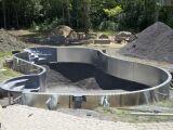 Les fondations de la piscine