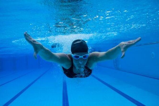 Les forces de frottements en natation